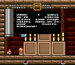 Screenshot Thumbnail / Media File 1 for Super Mario World (USA) [Hack by Golden Yoshi v1.0] (~SMW2+3 - The Essence Star)